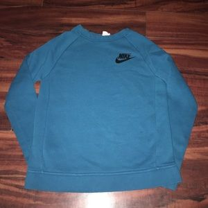 Blue Nike sweatshirt